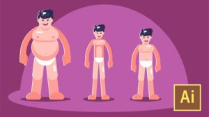 Learn Illustrator CC Create Simple Flat Vector Characters - Free Course Site