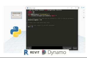 Basic Python Scripting for Dynamo Geometry BIM Course Site Use python to improve and set new workflows for your scripts, develop workflows and set your own custom nodes.